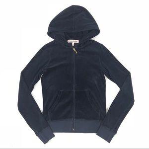 Juicy Couture Blue Full zip hoodie jacket 🍺